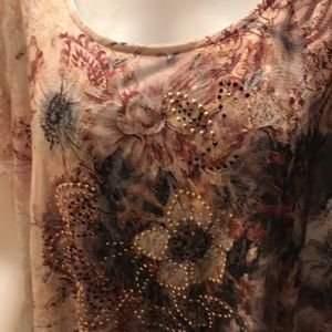 Simply Emma Tops - NWT sz 3x lace top by simply Emma